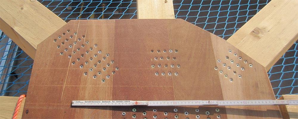 Dachkonstruktion Sperrholz